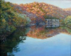 Kentucky River, landscape example. good color, river reference, long depth of field.  Will be good for OKBB's narrow space.