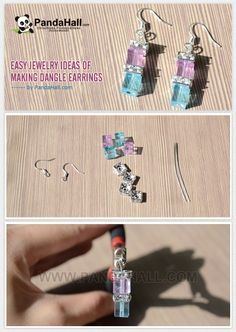 Easy Jewelry Ideas of Making Dangle Earrings from pandahall.com by Jersica