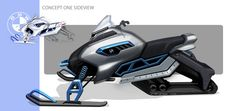 BMW Snowmobile Concept on Behance