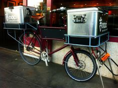 Noci's gelato delivery bike by Gino, via Flickr
