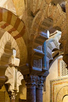 Mezquita Arches by Cary Seipp