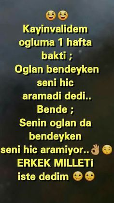 erkek  milleti Me Quotes, Qoutes, Funny Quotes, Good Sentences, Turkish Language, Funny Times, Good Jokes, Derp, Cool Words