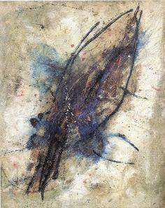WOLS http://www.widewalls.ch/artist/wols/ #lyrical #abstraction #tachisme
