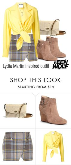 Lydia Martin inspired outfit/TW by tvdsarahmichele on Polyvore featuring Moschino, River Island, Sole Society and UGG Australia