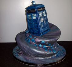 Dr Who cake by Mamma Jamma Cakes.