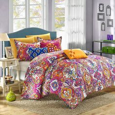 Chic Home Bombay Global Inspired Reversible 8-piece Comforter Set   Overstock.com Shopping - The Best Deals on Comforter Sets