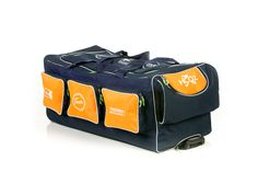 Hockey goaliebag, special made (customized) in eigen maat, kleuren en bedrukking, via STEETSports.nl