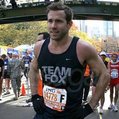Ok, this link is for 7 treadmill workouts...but I thought looking at a picture of Ryan Renolds would be more appealing than some chick on a treadmill!
