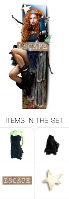 """~Merida: The Viking Queen~"" by andrea-villeda ❤ liked on Polyvore featuring art"