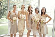 more assorted bridesmaid dresses