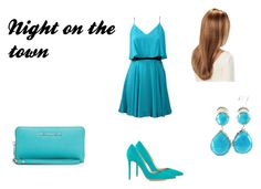"""""""Night on the town {Part One; Date Night}"""" by skylargrace-quotev ❤ liked on Polyvore featuring Lavender Brown, Gianvito Rossi, MICHAEL Michael Kors, Ippolita and DateNight"""