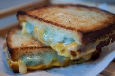 Disgusting Looking Blue Gruyere Grilled Cheese Sandwich On Yahoo - CovalentNews.com