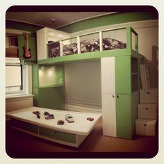 awesome kid's bedroom designed by Jennifer Ward