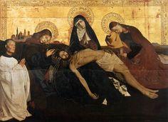Enguerrand Quarton - Pietà