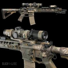 Kryptek Defense Rifle with Leupold optic