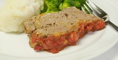 Pain_de_viande_peche_mignon Menu 1200 Calories, Meatloaf, Baby Food Recipes, Ainsi, Baby Meals, Suppers, Food