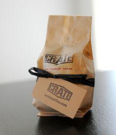 Crate Coffee Packaging