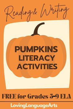 Grab their attention with interesting informational texts about pumpkins, historical literacy, vocabulary connections, a poem, fascinating facts for critical thinking, writing explanatory text about how to make a jack-o-lantern, writing a short persuasive text about why & how people can eat more pumpkin in their diets, and more ELA activities. Perfect for the fall season in ELA. Much more than time filler before Halloween and Thanksgiving in grades 5-9 -it is higher order thinking skills! Critical Thinking Activities, Literacy Activities, Persuasive Text, Informational Texts, Thinking Skills, Middle School, Vocabulary, Fun Facts, Fascinating Facts