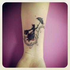 Tattoo#Mary poppins# FANTASY