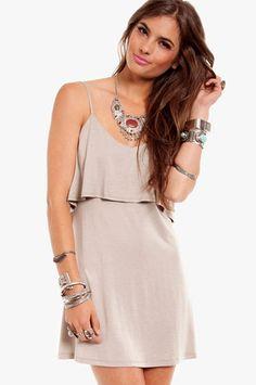 Pippa Tiered Dress $30 at www.tobi.com cutee