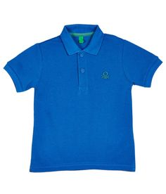 United Colors Of Benetton Blue Cotton Short Sleeve Polo T-shirt - http://babylook.in/product/united-colors-of-benetton-blue-cotton-short-sleeve-polo-t-shirt/