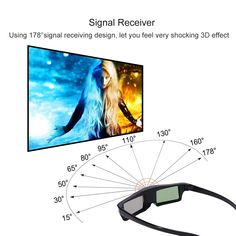 5pcs Portable DLP- Link 3D Glass USB Rechargeable 3D Active Shutter Glasses 96-144Hz Infrared for For 3D Ready DLP Projector  Price: 120.95 & FREE Shipping  #computers #shopping #electronics #home #garden #LED #mobiles #rc #security #toys #bargain #coolstuff |#headphones #bluetooth #gifts #xmas #happybirthday #fun Projector Price, Shutters, Vr, Mobiles, Computers, Bluetooth, Headphones, How Are You Feeling, Xmas