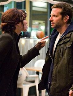 "With costar Bradley Cooper in ""Silver Linings Playbook"", 2012... Tiffany: You are afraid to be alive! You're afraid to live! You're a conformist! You're a hypocrite! You're a liar! I opened up to you and you judged me! You're an asshole! LOOOVVVVE THIS MOVIE✯✯✯"
