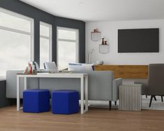 Have Your Sofau0027s Back: Four Ideas For The Space Behind Your Sofa. Modern  Living Room DesignMid ...