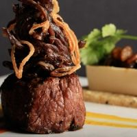 Peruvian Inspired Filet Mignon with a Japanese Twist #moleculargastronomy