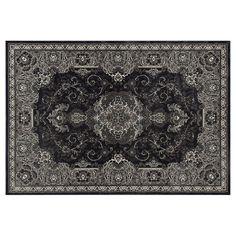 Art Carpet Chelsea Framed Floral I Rug, Grey