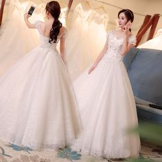 6da47a642f Wedding dress 2017 new Korean large size princess palace bride married Qi  Di Slim was thin
