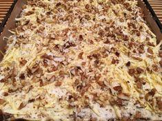 Prajitura lenesului – Sa Gatim cu Gina Lasagna, Macaroni And Cheese, Deserts, Food And Drink, Cooking Recipes, Ethnic Recipes, Caramel, Recipes, Yummy Cakes