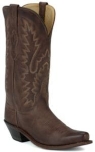 Old West® Ladies Classic Chocolate Mad Dog Snip Toe Western Boot | Cavender's