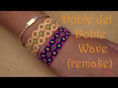 Pulsera de Hilo: Doble del Doble Wave (remake)