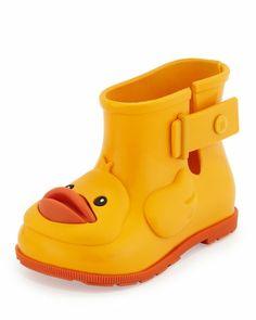 chaussures melissa au canard pour amuser votre petit
