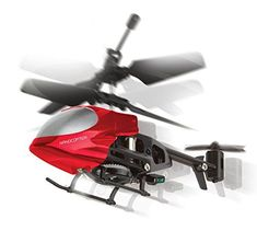 Worlds Smallest Remote Control Helicopter Miniature Indoor Flying LED Micro Nano Mini RC Helicopter Toy Whirlybird Chopper Copter Gyro Drone Airplane for Kids  Colors Vary  by Perfect Life Ideas * Want additional info? Click on the image.