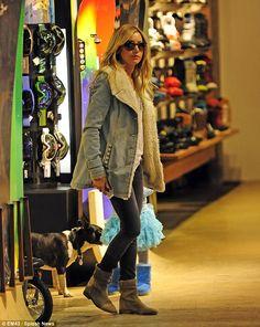 Ashley Tisdale + Jean Jacket