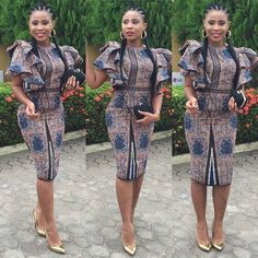 is an African fashion and lifestyle website that showcase trendy styles and designs, beauty, health, hairstyles, asoebi and latest ankara styles. Latest Ankara Styles, Latest African Fashion Dresses, African Print Dresses, African Dresses For Women, African Print Fashion, Africa Fashion, African Wear, African Women, Ankara Fashion