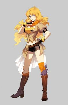 Concept Art World » Rooster Teeth Productions Presents RWBY Concept Art by Ein Lee (Q)
