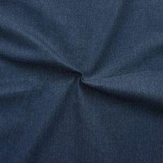 Stretch JEANS-Stoff mit Weiche Strapazierfähig Baumwolle Leichte Meterware