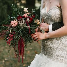 Working on flower orders for September weddings and I'm so excited for the warm color schemes that fall brings! Photo by Cascading Bouquets, Cascade Bouquet, September Weddings, Warm Color Schemes, Christmas Wreaths, Bring It On, Holiday Decor, Wedding Dresses, Fall