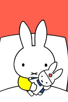 When Miffy fell sick. Awwww!