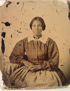 [Unidentified African American woman]; 1860s; ambrotype