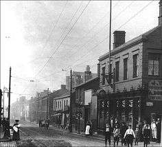 Stafford Street looking into Longton