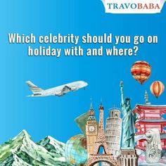 Whether for a film set or a concert venue, celebs often travel. Which celebrity do you think would be the perfect travel buddy for you? Going On Holiday, Celebrity, Celebs, Film, Concert, Movie Posters, Travel, Celebrities, Movie
