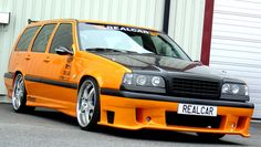 Holy shit, most awesome thing I've ever seen, Volvo 850 Volvo 850, Volvo Wagon, Volvo Cars, Volvo Estate, Orange Cars, Image Model, Fun Shots, Station Wagon, My Ride