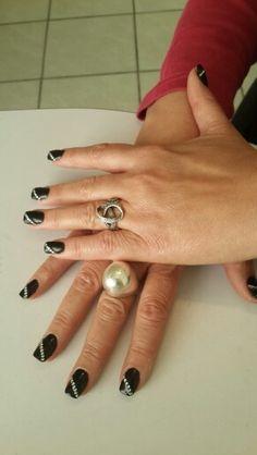 Black acrylic.....