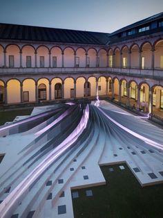 Zaha Hadid's Milan Installation -