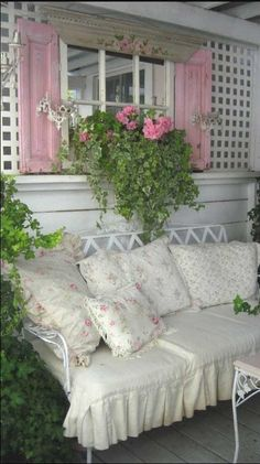 I want a porch like this : )