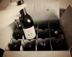 Could use wine from Aldi for super cheap or tasty Shelton Vineyards / Use custom wine labels to save money on your wedding booze… covertly! | Offbeat Bride